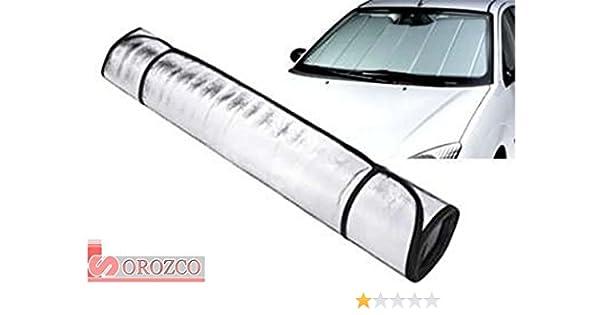 Parasol para parabrisas de coche calor / frio 150 x 70 cm.: Amazon.es: Coche y moto
