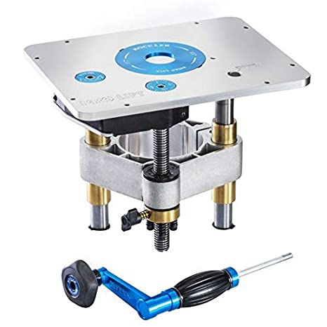 Rockler Pro Lift Router Lift 9 1 4 X 11 3 4 Plate