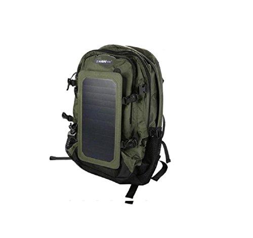 GAOJIAN Solar Rucksäcke Ladepaket Outdoor Wandern Rucksäcke Schulter Rucksack Männer & Frauen Bergsteigen Tasche hoch 48cm Breite 36cm