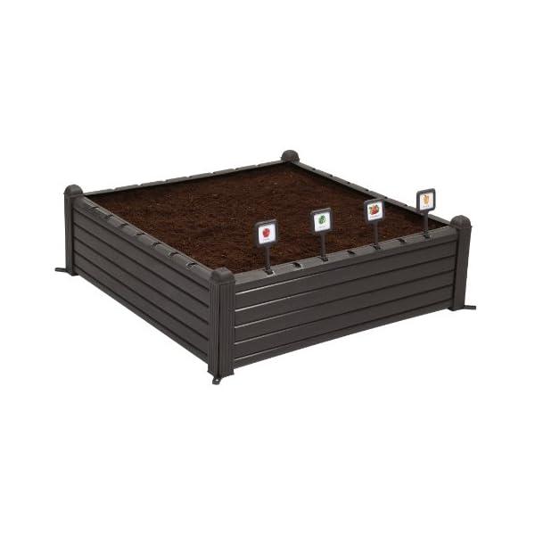 Curver Serra Raised Garden Bed Marrone 2 spesavip