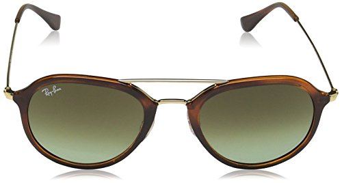 4253 Stripped Marron Ray Green Ban Brown Sonnenbrille RB qXwwPp4Wft