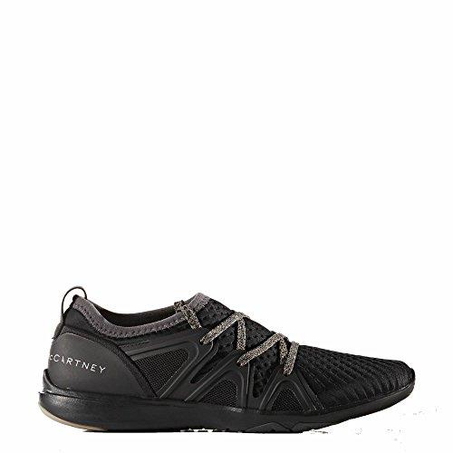 adidas by Stella McCartney Women's CrazyMove Core Black/Night Steel/Smc/Shell Beige/Smc Athletic Shoe