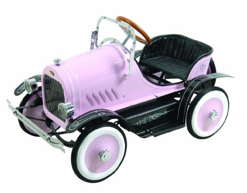 Deluxe Pedal Car (Dexton Deluxe Pink Roadster Pedal Car)
