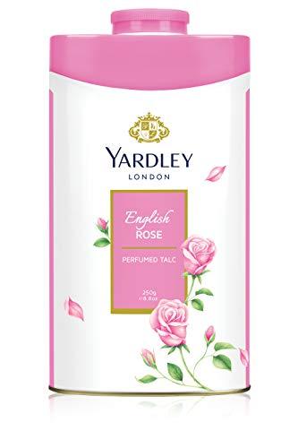 - Yardley English Perfumed Talc, Rose