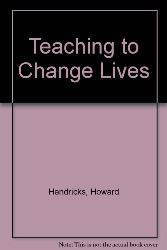 Teaching to Change Lives