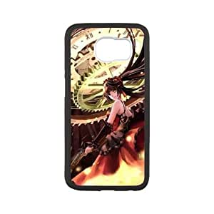 Date A Live Samsung Galaxy S6 Cell Phone Case Black yyfabc-623784
