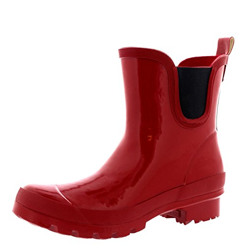Chelsea Gloss Polar Festival Classic Boots Welly Flat Garden Shoe Womens Red Products Dark xtIrq6nIg