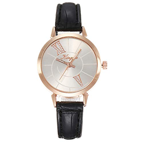 (Clearance! Hot Sale ❤ Fashion Diagonal Roman Digital Scale Rose Gold Shell Belt Quartz Female Watch Under 10 Dollars 2019 New)