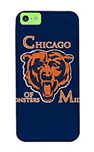 Flyingangela Fashion Protective Chicago Bears Nfl Footballje Case Cover For Iphone 5c