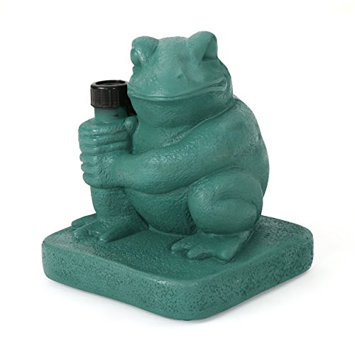 Christopher Knight Home Zues Outdoor 55lbs Green Frog Umbrella Base ()