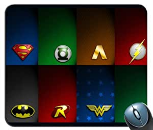 Custom Justice League Heros Mouse Pad g4215 by icecream design
