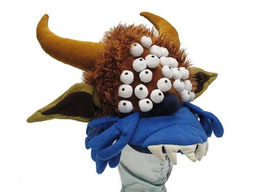Toy Vault Monty Python Black Beast Of Aaaarrrrgggghh! Plush Hat [Rare Scottish Trophy Hat Edition]