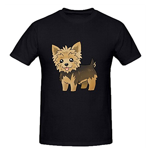 cute-yorkie-t-shirts-for-men-crew-neck-black-big-tall