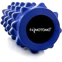 Motomo フォームローラー ストレッチローラー 筋膜リリース マッサージ 腰痛・肩コリ・筋肉痛を改善 ヨガポール グリッド トリガーポイント エクササイズ