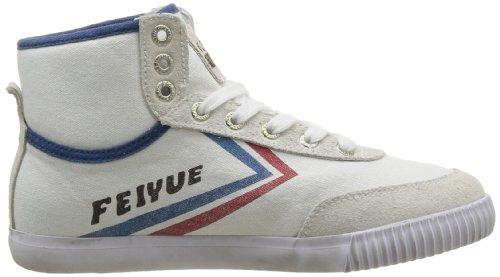 Blanc Baskets white blue Mixte Mode red Adulte Origine Feiyue High As 1920 z8Bppaq