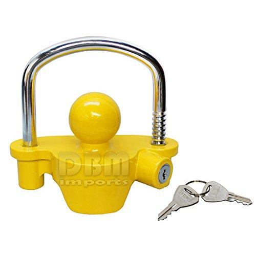 Tractor Trailer Keys : Trailer coupler lock boat marine rv tractor hitch theft