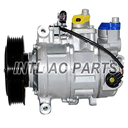 Amazon com: DENSO 6SEU14C Car Auto AC Compressor For AUDI A6
