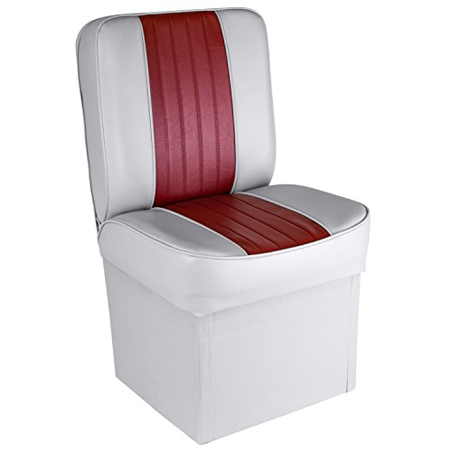 (Wise 8WD1414P-661 Deluxe Universal Jump Seat (Grey/Red))