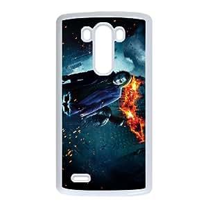 LG G3 Cell Phone Case White Batman D5N4B