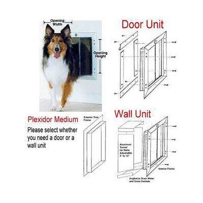 Amazon Extra Large Plexidor Pet Door Dog Door For Doors