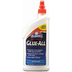 Elmer\'s E3830 Multi-Purpose Glue-All, 16 Ounces