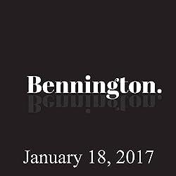 Bennington, January 18, 2017