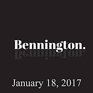 Bennington, January 18, 2017 Radio/TV Program