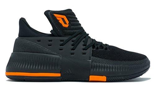 Adidas Dame 3 Nba / Ncaa Sko Mænds Basketball Kerne Sort-orange Fast 2JxfB