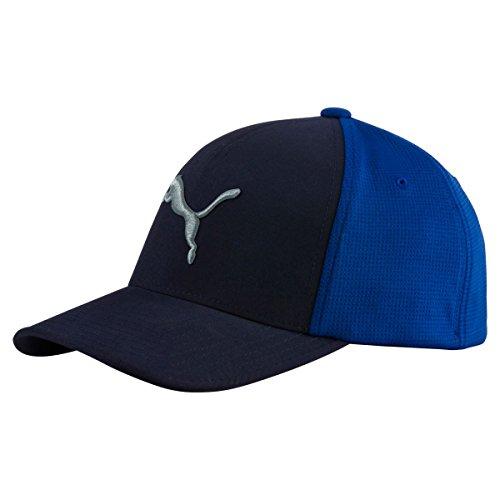 Puma Golf 2017 Mens Front 9 Flexfit Hat, Peacoat-True Blue, Large/X-Large