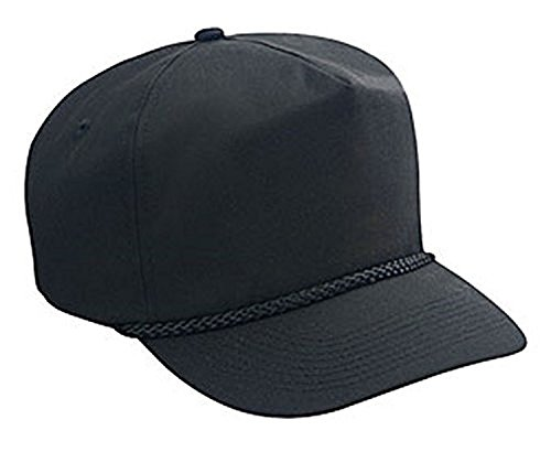 Hats & Caps Shop Cn Twill Low Crown Golf Style Caps - Black - By TheTargetBuys