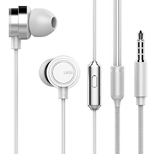 Festnight UiiSii HM13 in-Ear Music Headphones with Mic 3.5mm Plug Earphone Heavy Bass Headset Game Sport Music Earphone