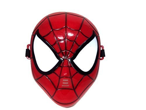 Shocker Spider Man Costume (Marvel Superhero The Avengers Costume LED Light Eye Mask (Spiderman))