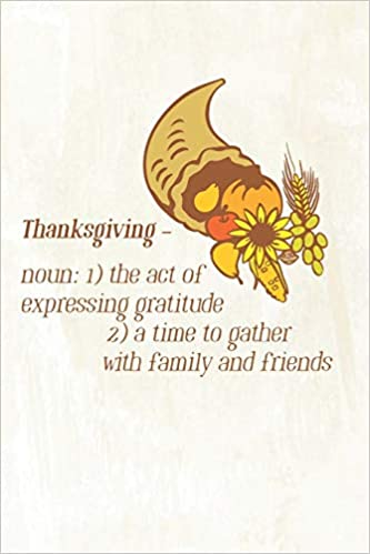 com thanksgiving gratitude journal for daily blessing and