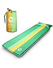 EKKONG Selbstaufblasende Luftmatratze Isomatte 190x68 cm mit 3, 5 cm Dicke, für Camping, Outdoor, Reise, Wandern, Strand