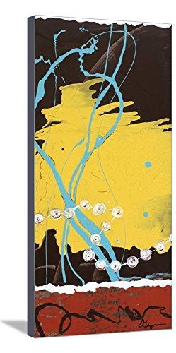 ArtEdge Pearls II by Dlynn Roll, Stretched Canvas Print, 15x30 in (30h Pearl)