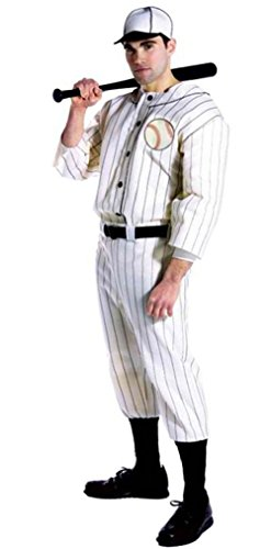 [Fancy Old Tyme Baseball Player Adult Costume] (Baseball Player Costumes Women)