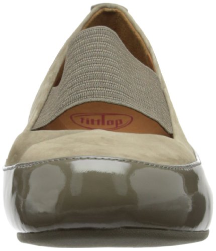 FITFLOP 314 DUE Bailarinas  Talla 37 Beige - Bungee Cord
