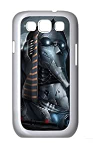 3D Mechanical World Custom Hard Back Case Samsung Galaxy S3 SIII I9300 Case Cover - Polycarbonate - White