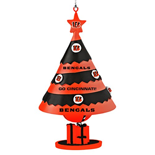 NFL Cincinnati Bengals Tree Bell Ornament