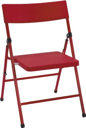 Cosco Products Kid's 4-Pack Pinch-Free Folding Chair, ()