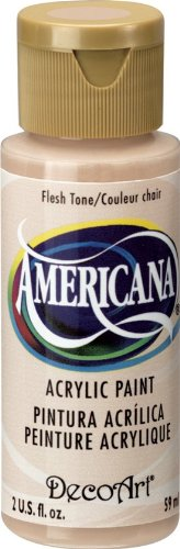 Price comparison product image DecoArt Americana Acrylic Paint, 2-Ounce, Flesh Tone