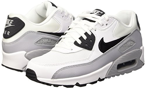 Max Bianco Grey Running Da white Nike Donna Air wolf 90 Wmns black Essential Scarpe zcSEqfOw