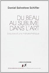 Du beau au sublime dans l'art : Esquisse d'une métaesthétique