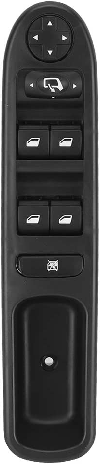 Interrupteur de vitre /électrique c/ôt/é passager avant droit 6490.EH Voiture Auto /Électrique Fen/être Interrupteur de Commande Commutateur Interrupteur Bouton pour 207 WA SW 2006 2007 2008 2009-2016