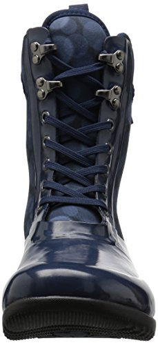 Blue Women's Bogs Boots Dark Wellington Multi AfpwBwSq