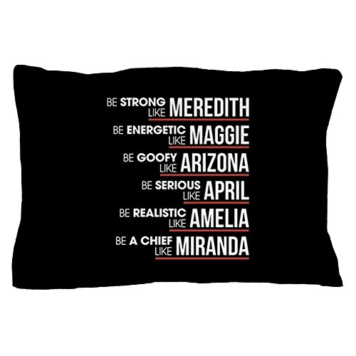 CafePress Be Strong Like Meredith Standard Size Pillow Case, 20