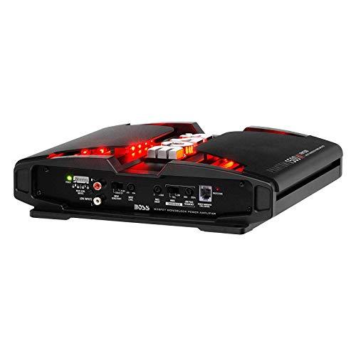 Boss Phantom PM1500 1500W 2 Ohm Mono Car Audio Amplifier w/Remote and Wire Kit