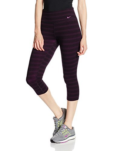 Nike Womens Legend Dri-FIT Cotton Zig Dot Printed Capris