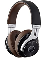 Edifier W855BT Bluetooth Headphones - Over-Ear Stereo Wireless Headphone with Microphone and Volume Control - Brown