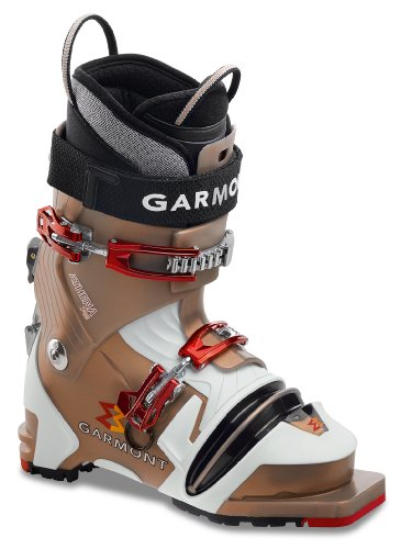Garmont Athena Telemark Ski Boot (Grey Pearl/White, 22.5 Mondo)
